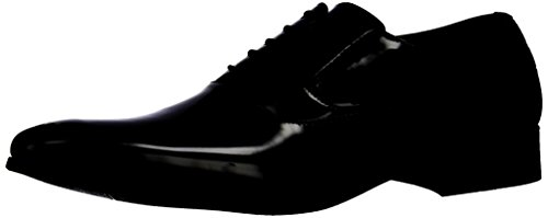 Delli Aldo Frank M19121 Mens Classic Oxford Lace Up Dress Scarpa Black100