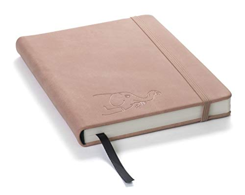 (Red Co Journal with Embossed Elephant, 120 Pages, 5