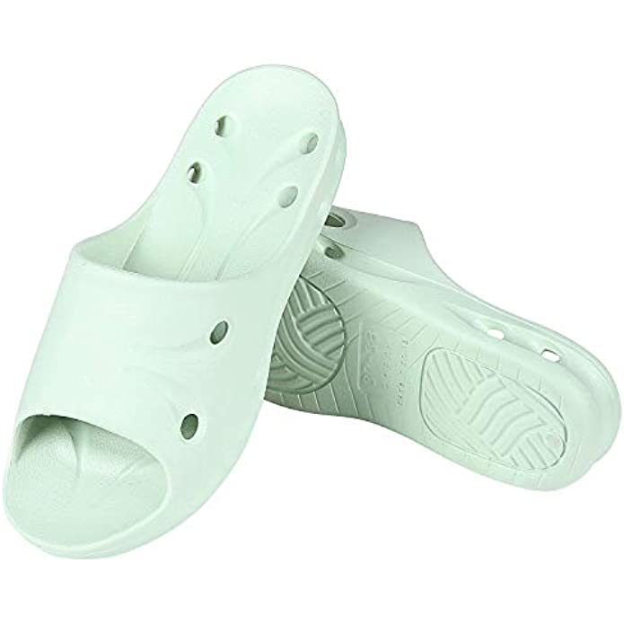 shevalues Shower Pool Sandals Quick Drying Bathroom Slippers