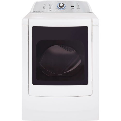 Affinity 7.0 Cu. Ft. High Efficiency Front Load Electric Dryer with Glass Door – Classic White