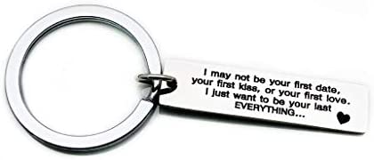 SMUOBT I May Not Be Your First Date Keychain Boyfriend
