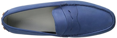 Lacoste Mens Concours 216 1 Mocassino Slip-on Blu Scuro