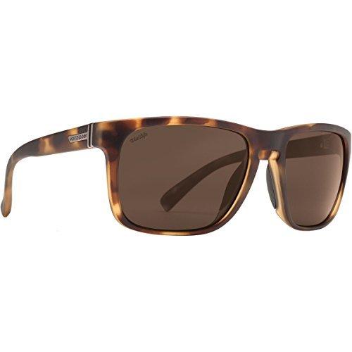VonZipper Unisex Lomax Polar Tortoise Gloss/Wild Bronze Polar Sunglasses