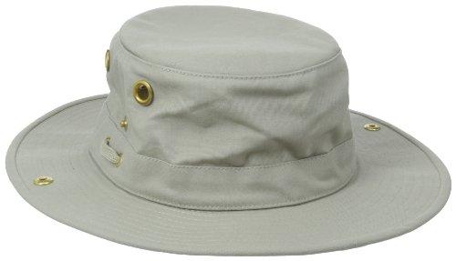 Tilley Endurables T3 Traditional Canvas Hat,Khaki,7 3/8