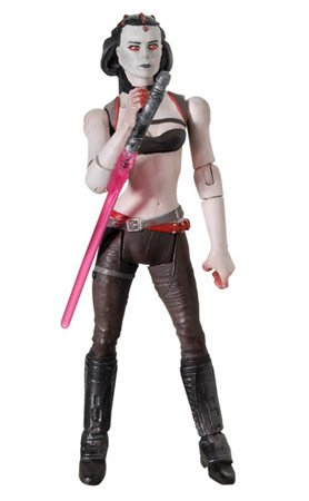 (Hasbro Star Wars Basic Figure Force Unleashed Maris Brood)