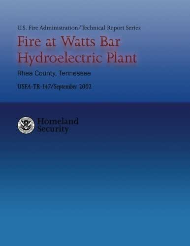 Fire at Watts Bar Hydroelectric Plant (U.S. Fire Administration Technical Report 147)