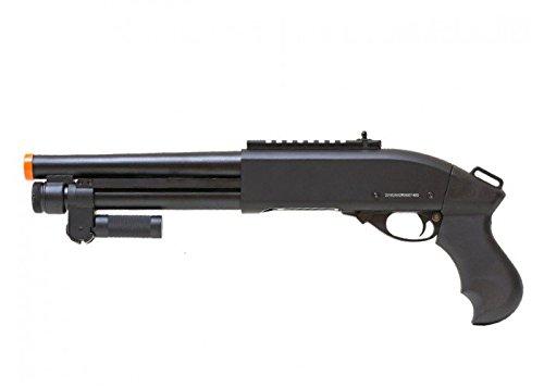 Jag Arms Scattergun Super CQB Metal Airsoft Gas Pump Shotgun by Jag Arms
