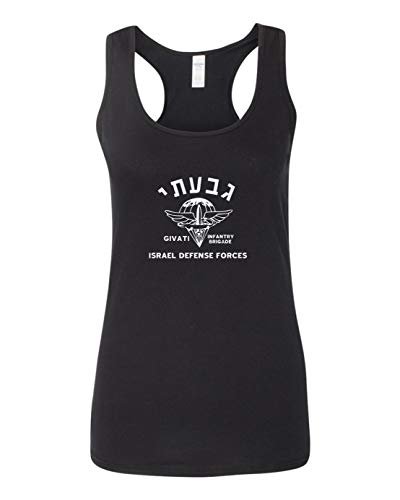 Got-Tee- Givati Brigade Israeli Army Military IDF Defense forces Women Tank Top Small Black