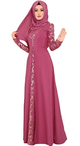 SHOWNO Women's Muslim Lace Middle Eastern Abayas Ramadan for sale  Delivered anywhere in USA