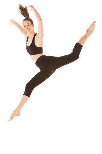 SlimHot® Women's Hot Slimming Capri Pants Leggings, Anti-cellulite Body Shape Wear Shapewear Weight Loss, XL Black