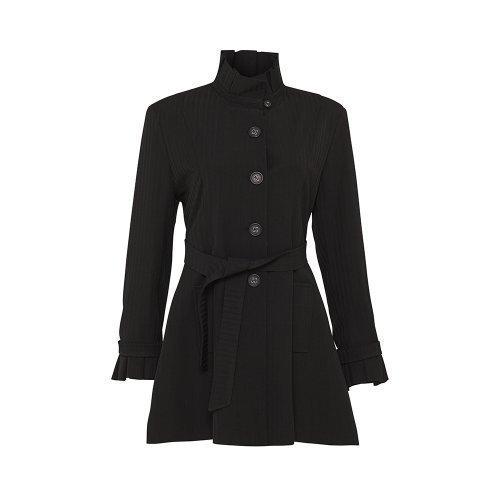 Charmant Damen Frühling / Sommer Mantel DE LA CREME Leichter Fit U0026 Flare Gürtel  Mantel *SS14