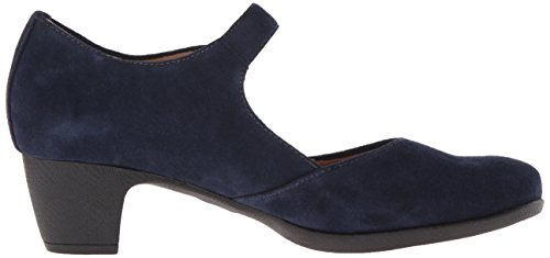 Navy Irish SoftWalk Suede Women's Pump Dress 5qCp0CI