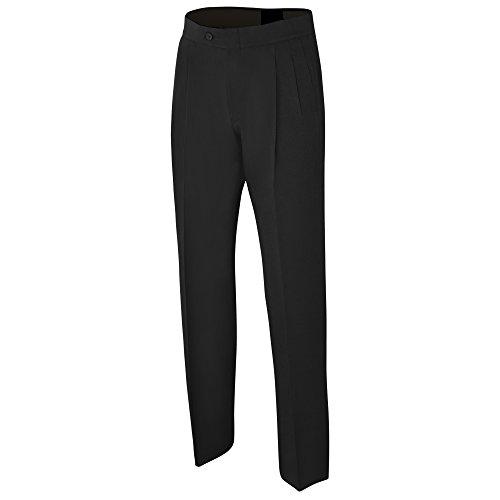 Adams Pants Referee Basketball Pleated Poly/Spandex Black