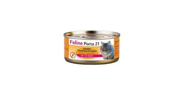 FELINE Porta gato Forro Feline Porta 21 Atún Plus surimi 156 g, 6 unidades (6 x 156 g): Amazon.es: Productos para mascotas