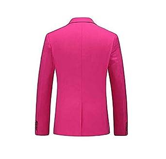AK Beauty Mens Business Suit Jacket Blazer Two Button Slim Fit Wedding Tuxedo Jacket