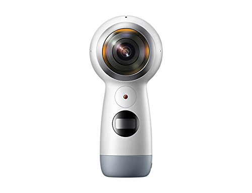 Samsung Gear 360 SM-R210 (2017 Edition) Spherical Cam 360 degree 4K Camera (International Version)