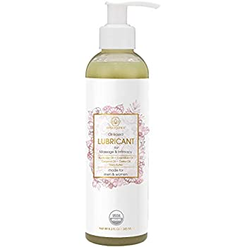 Organic Personal Lubricant & Massage Oil - Natural Lube For Men and Women With Extra Nourishing, Hydrating, Soothing Ingredients. Edible, Non Toxic, Paraben Free Formula Era-Organics