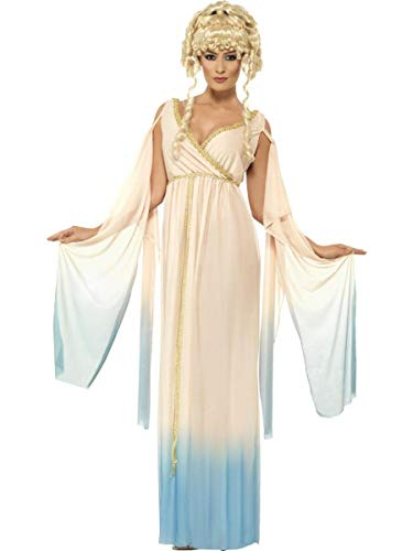 Smiffy's Women's Greek Princess Costume with Dress and Headpiece, Multi, 1X -