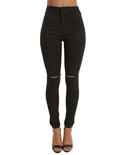 Women's Pants Skinny Jean High Waist Jegging Stretchy Trousers Casual, Business, Office