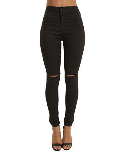 High Waist Trouser Jeans - 3