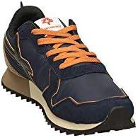 WIZZ/ Sneaker Running MOD. Jet-m Suede Blu Navy/Nero/Topo U20WI03