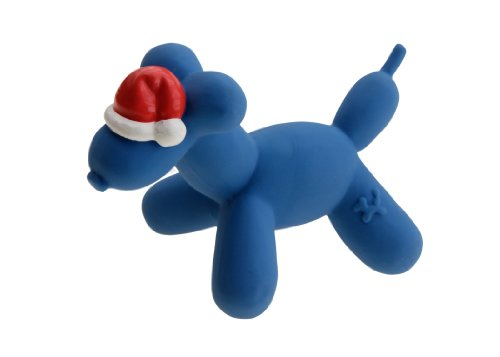 Charming Pet Products Balloon Xmas Dog Small Latex Dog Toy, My Pet Supplies