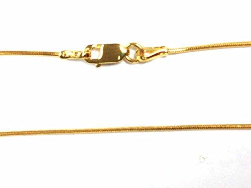 Gold 1 Mm Snake - 8