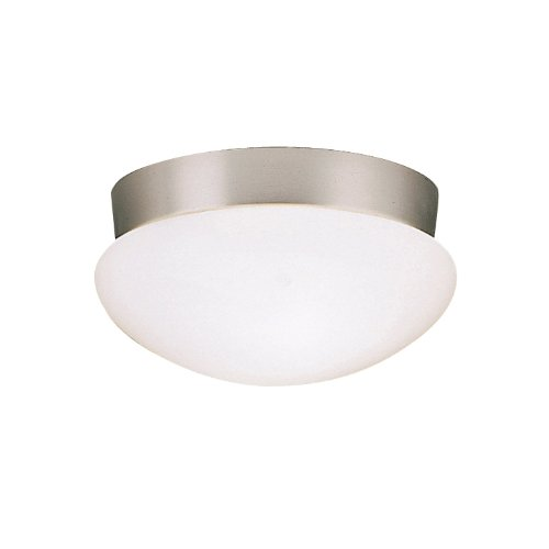 Kichler 8102NI Ceiling Space 2-Light Flush Mount in Brushed (Space Two Light)