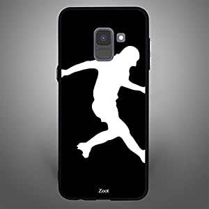 Samsung Galaxy A8 Plus Football BnW