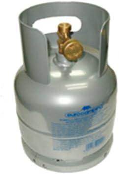 Bombona gas GLP de kg 1 vacía recargable de camping viaje ...