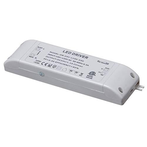 Dainolite Lighting DRDIM-30 24V Dc 30W Led Dimmable Driver, White from Dainolite Lighting