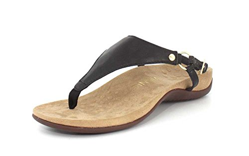 0b75cb5da5c Vionic Womens Kirra Leather Orthotic Arch Support Sandals Brown - Buy  Online in Oman.
