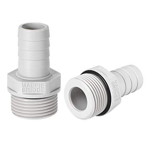 uxcell PVC Barb Hose Fitting Connector Adapter 16mm or 5/8