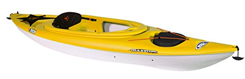 Pelican Maxim 100X Sit-in Recreational Kayak Kayak 10-Foot Lightweight one Person Kayak Perfect for Recreation