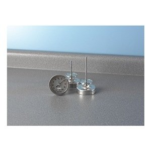 Reotemp Instrument - BB060CF35 - Thermometer Sanitary Bimetal 0 To 100 Deg F 6 Stainless Steel Reotemp Instrument, Ea by Reotemp Instrument