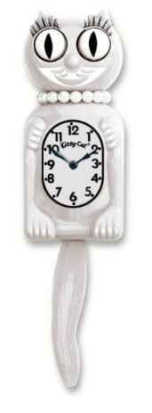 Miss Kitty Cat Klocks (White)