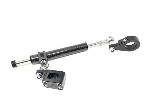 Streamline 11-Way Steering Stabilizer - Carbon - Rebuildable BTS-CB54-BK