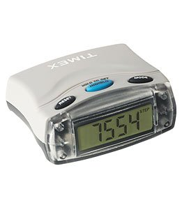 TIMEX IRONMAN PEDOMETER W/ CALORIES TIMER SPEED RATE ()
