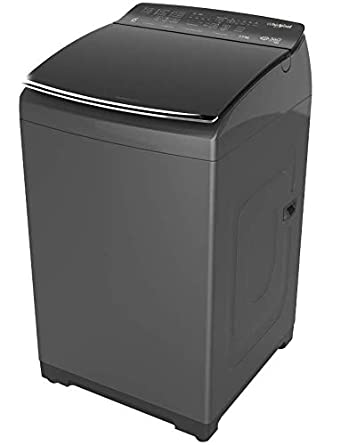Whirlpool 7.5 kg Fully-Automatic Top Loading Washing Machine (360 Degree Bloomwash Pro 7.5, Graphite)