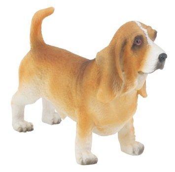 Basset Hound Dog- Collectible Statue Figurine Figure Puppy (Basset Figurine)