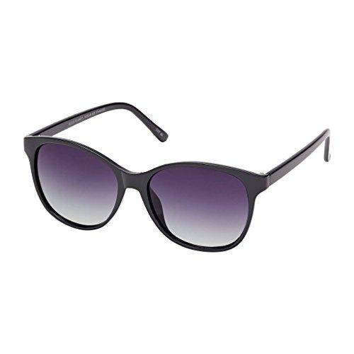 Blue Planet Sunglasses Luna BP14195 Black Onyx Gradient Smoke Polarized - Luna Sunglasses