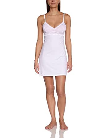 Cosabella Women's Never Say Never and Soire Babydoll, White, Medium