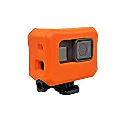 Makit Floaty Case, Orange For Gopro Hero 6, Hero 5 Black & Hero 2018