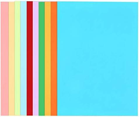 ورق ورق مقوى ملون من توياندونا A4 ورق رسم سميك للأطفال في المنزل رياض الأطفال مصنوع يدوي ا 50 قطعة ألوان متنوعة Amazon Ae