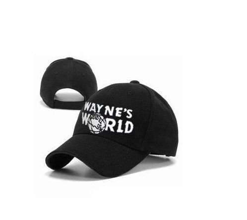 Wayne's World Hat costume Waynes World cap embroidered baseball cap version