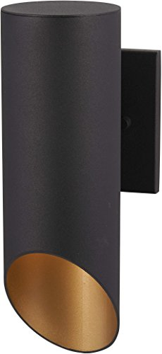 Minka Lavery Modern Outdoor Wall Light 72611-66G Pineview Slope Exterior Wall Lantern, 1-Light 60 Watts, Black
