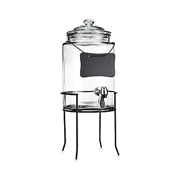 Amazon.de: Del Sol 6-quart Getränke Krug mit Tafel und Ständer