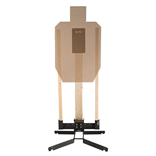 Multifunctional Reactive Steel Rifle & Pistol Target by Challenge Targets