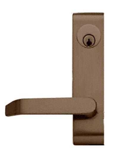 Jackson S95LV02BRZ Bronze Locking Flat Lever Outside Trim