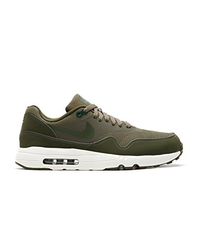 NIKE Men's Air Max 1 Ultra 2.0 Essential Medium Olive/Sail/Legion Green Running Shoe 13 Men US by NIKE